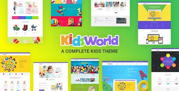 Children WordPress Theme - Kids Heaven - Education WordPress