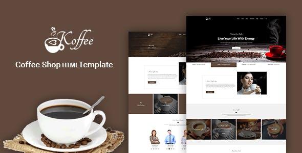 Koffee - Coffee Shop HTML Template