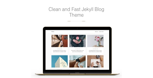 Midan - Clean and Fast Jekyll Blog Theme - Jekyll Static Site Generators