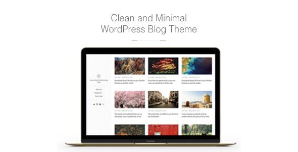 East - Clean & Minimal WordPress Blog Theme - Personal Blog / Magazine