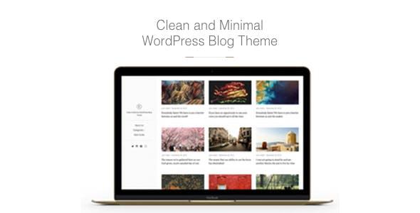 East - Clean & Minimal WordPress Blog Theme