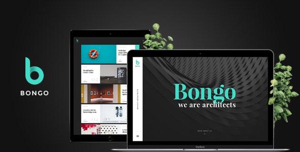 Bongo - Multi Сoncept PSD template for Portfolio - Portfolio Creative