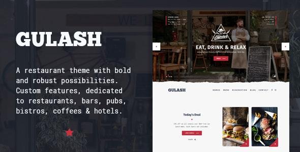 Gulash - delicious restaurant & coffee theme - Restaurants & Cafes Entertainment