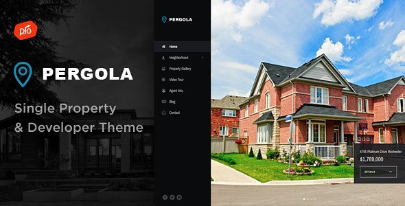 Pergola - Single Property & Developer Theme - Real Estate WordPress