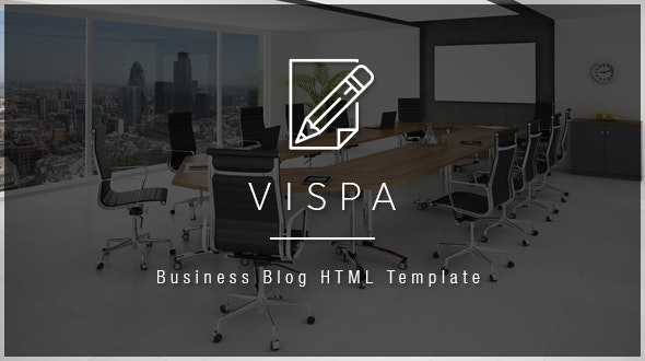 Vispa - Corporate & Business for Startups HTML Template - Business Corporate