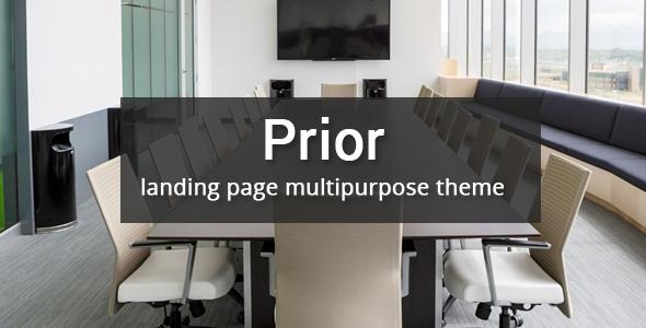 Prior - Multipurpose Responsive Bootstrap Landing page - Landing Pages Marketing