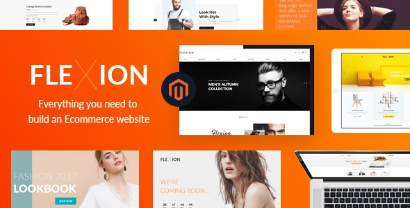 Flexion - Fashion Responsive Magento Theme - Magento eCommerce