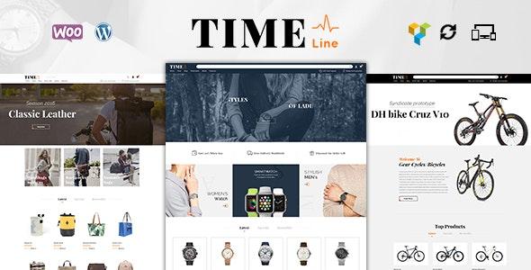 Time Lines - Multipurpose WooCommerce Theme - WooCommerce eCommerce