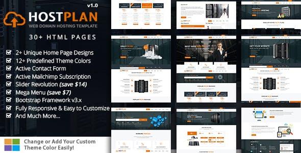 Hosting Plan HTML