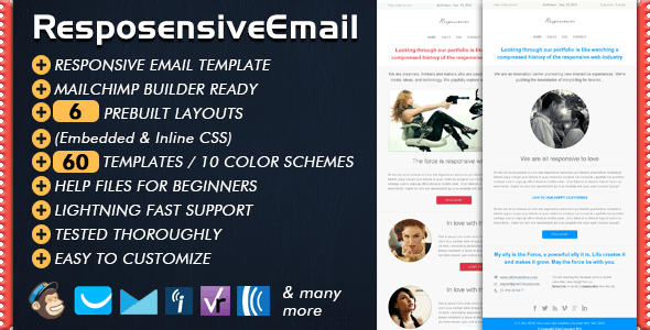 Responsive Email | RESPOSENSIVE - Email Templates Marketing