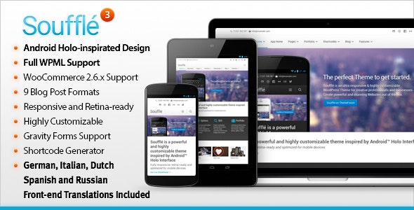 Souffle — Responsive Retina Multi-Purpose Theme - Corporate WordPress