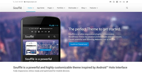 ECommerce Android App WordPress Themes from ThemeForest