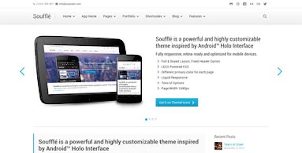 Souffle — Responsive Retina Multi-Purpose Theme