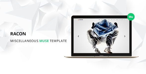 Racon - Muse Template - Creative Muse Templates
