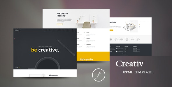 Creativ | Responsive HTML5 Template - Creative Site Templates