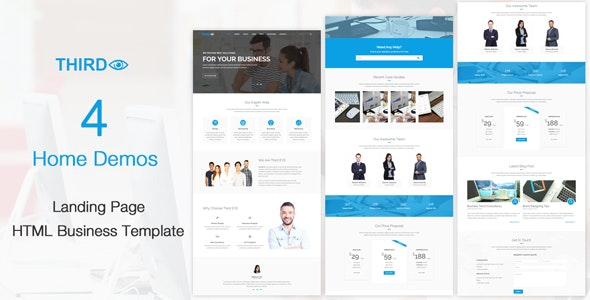 Third Eye - HTML Business Template - Business Corporate