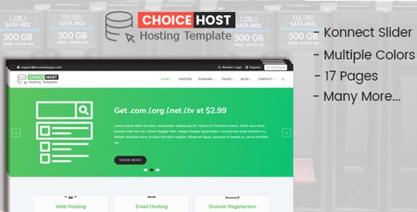 Cpanel Templates from ThemeForest