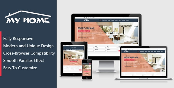 My Home - Real Estate Template - Business Corporate