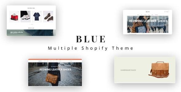 Ap Blue Shopify Theme - Fashion Shopify