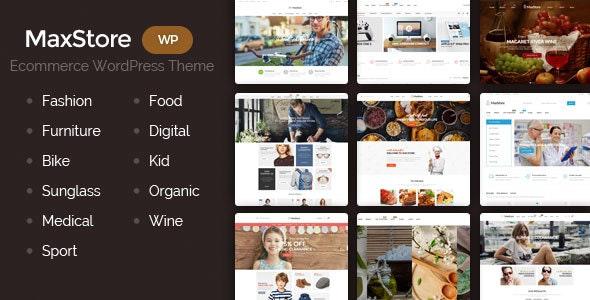 MaxStore - Fashion, Food, Furniture, Medical, Sport, Marketplace WooCommerce Theme - WooCommerce eCommerce