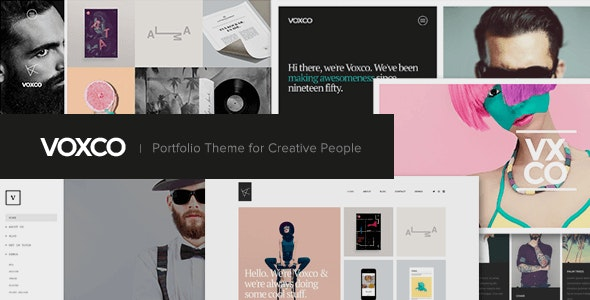 Voxco - Portfolio Theme for Creative People - Portfolio Creative