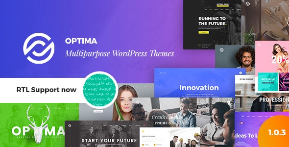 Optima - Multipurpose WordPress Theme - Creative WordPress