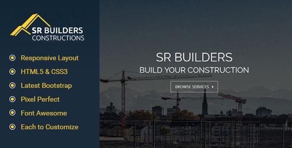 SR Construction - Responsive HTML5 Template - Business Corporate