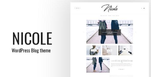 Nicole - Clean WordPress Blog Theme - Personal Blog / Magazine