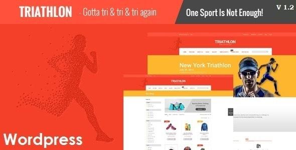 Triathlon - Sports and Gym Responsive WordPress Theme - Health & Beauty Retail