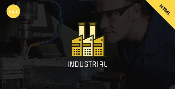 Industrial - Industry & Business HTML Template - Corporate Site Templates