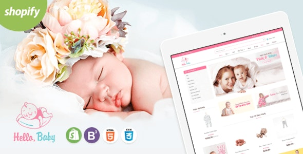 Hello Baby - Sectioned Shopify Theme - Shopify eCommerce