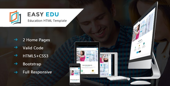Education HTML Template | EasyEdu - Corporate Site Templates