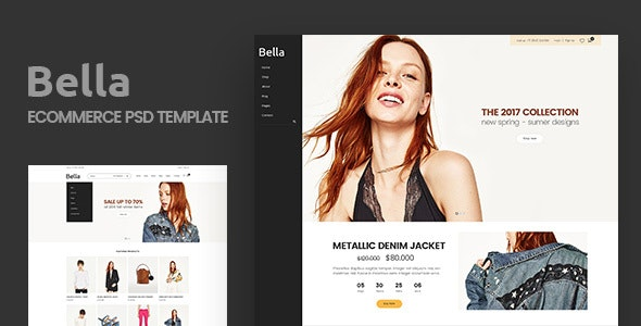 Bella - Multipurpose E-Commerce and Blog PSD Template - Fashion Retail