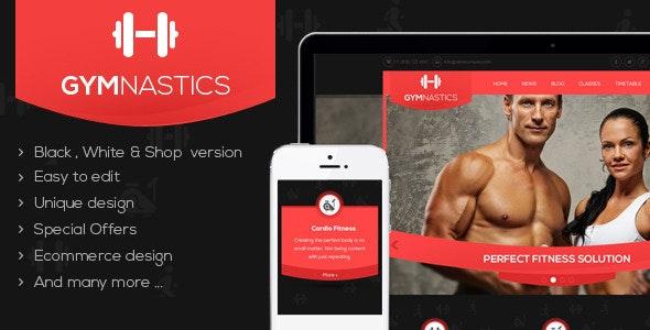 Gymnastics WordPress Theme - Miscellaneous WordPress