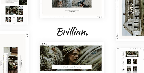 BRILLIAN - Photography & Personal Blog - Photography Creative