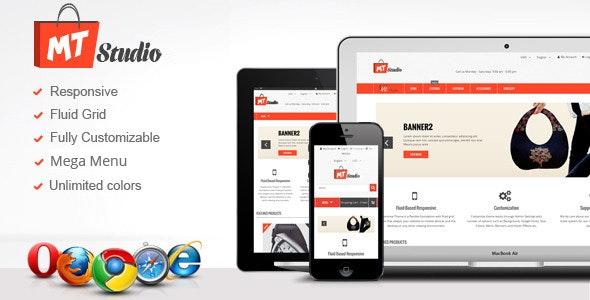 MTStudio Responsive Bigcommerce Theme! - BigCommerce eCommerce