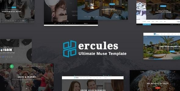 Hercules - Ultimate Muse Theme - Creative Muse Templates