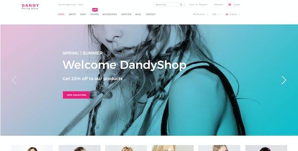 DANDY - Multi-Purpose eCommerce PSD Template