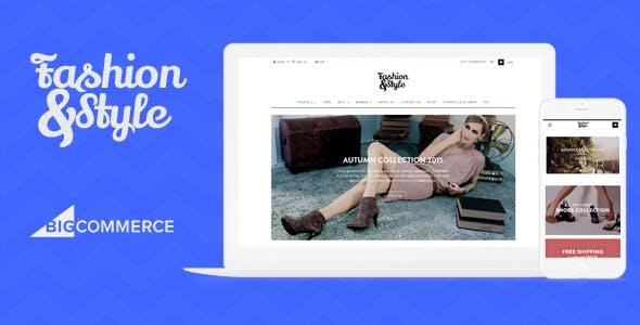 AP Fashion Store - Responsive Bigcommerce Theme Template