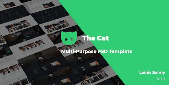 The Cat _ Multi-purpose PSD Template