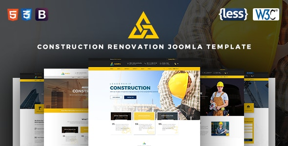 BuildPro | Construction Renovation Joomla Template - Business Corporate