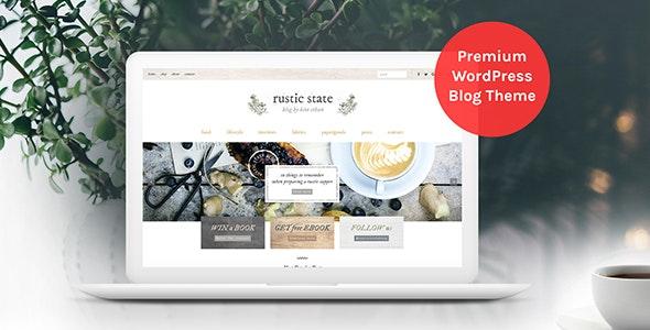 Rustic State WordPress Theme - Blog / Magazine WordPress