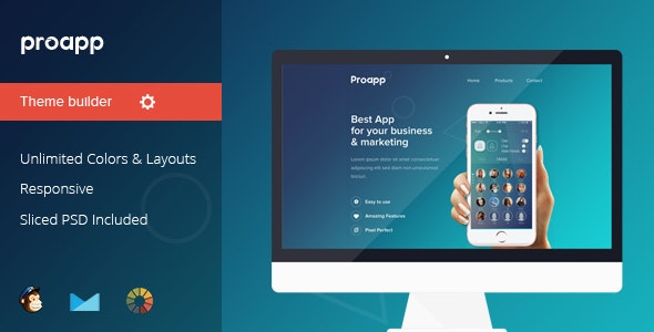 Proapp - Responsive Notification Email Templates - Email Templates Marketing
