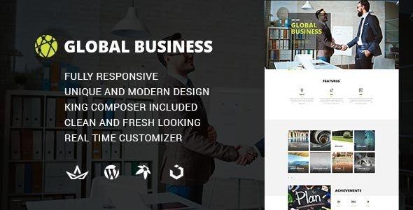 GB - Multipurpose Global Business WordPress Theme - Marketing Corporate