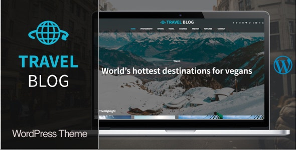 Travel Blog WordPress Theme - News / Editorial Blog / Magazine