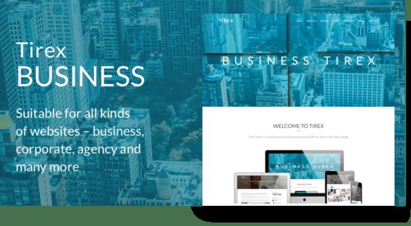 Tirex Business - Agency & Corporate WordPress Theme - Corporate WordPress