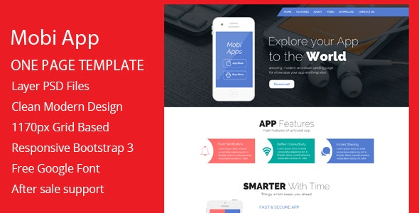 Creative Apps Template - Business Corporate