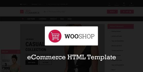 Wooshop - Ecommerce HTML Template - Fashion Retail
