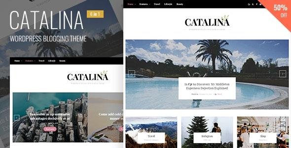 Catalina - Responsive Blogging WordPress Theme - Blog / Magazine WordPress