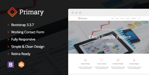 Primary - Business HTML/CSS Template